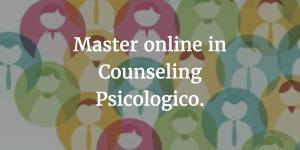 Master online in Counseling Psicologico a Reggio Emilia.