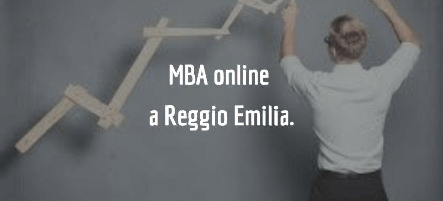Master online in Business Administration a Reggio Emilia