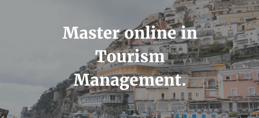 Master online in Tourism Management a Reggio Emilia.